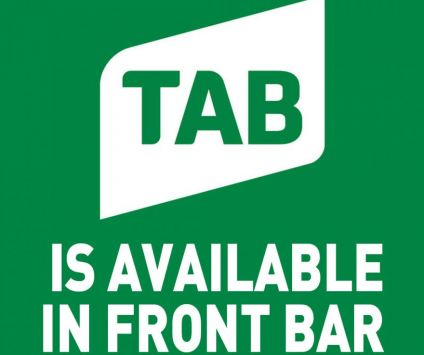 1. TAB is on in our front bar